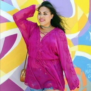 Free People Marigold Tunic, Pink